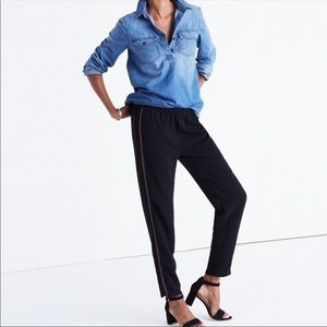 Madewell embroidered trouser pants